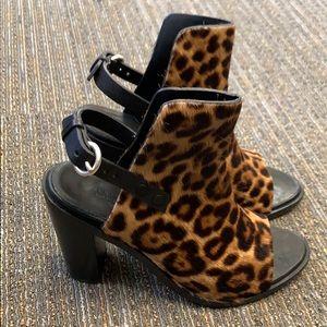 Rag & bone leopard print booties